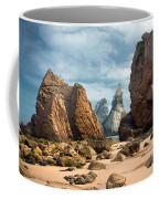 Ursa Beach Rocks Coffee Mug by Carlos Caetano