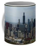 Us Cellular And Wrigley Field Chicago Baseball Parks 3 Panel Composite 02 Coffee Mug by Thomas Woolworth