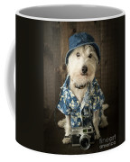Vacation Dog Coffee Mug by Edward Fielding