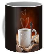 Valentine's Day Coffee Coffee Mug by Amanda Elwell