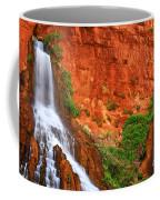 Vaseys Paradise Twin Falls Coffee Mug by Inge Johnsson