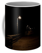 Ventura Pier At Night Coffee Mug by John Daly