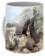 Verbal Abuse Coffee Mug by Alexey Stiop