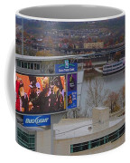 View Of Cincinnati Coffee Mug by Dan Sproul
