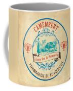 Vintage Cheese Label 3 Coffee Mug by Debbie DeWitt