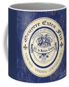 Vintage Cheese Label 5 Coffee Mug by Debbie DeWitt