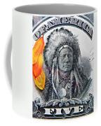 Vintage Five Spot Coffee Mug by Chris Berry
