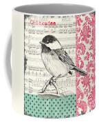 Vintage Songbird 3 Coffee Mug by Debbie DeWitt