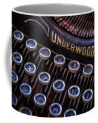 Vintage Typewriter 2 Coffee Mug by Scott Norris