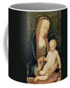 Virgin And Child With Pomegranate Coffee Mug by Hans Holbein the Younger