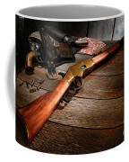 Waiting For The Gunfight Coffee Mug by Olivier Le Queinec