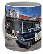 Wallys Service Station Coffee Mug by David Arment