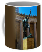 War Memorial Statue Youth In Nashville Coffee Mug by Dan Sproul
