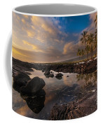 Warm Reflected Place Of Refuge Skies Coffee Mug by Mike Reid