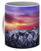 Wasatch Sunrise 2x1 Coffee Mug by Chad Dutson