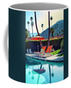 Water Waiting Palm Springs Coffee Mug by William Dey