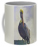 Waterway Pelican Coffee Mug by Deborah Benoit