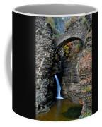 Watkins Glen Entrance Coffee Mug by Frozen in Time Fine Art Photography