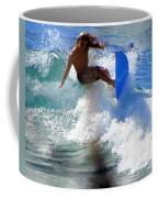 Wave Rider Coffee Mug by Karen Wiles