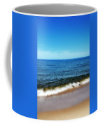 Waves In Motion Coffee Mug by Michelle Calkins