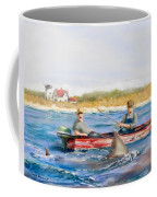 We Need A Biggah Boat Coffee Mug by Jack Skinner