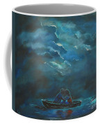 Weathering The Storm Coffee Mug by Leslie Allen