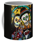 Wedding Dia De Los Muertos Coffee Mug by Pristine Cartera Turkus