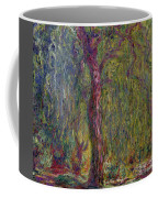 Weeping Willow Coffee Mug by Claude Monet