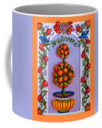Welcome Coffee Mug by Amy Vangsgard