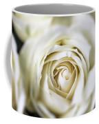 Whie Rose Softly Coffee Mug by Garry Gay
