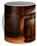 Whisky Barrel Coffee Mug by Olivier Le Queinec