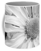 White Daisy Coffee Mug by Adam Romanowicz