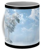 White Tree... Coffee Mug by Tim Fillingim