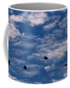 Wild Goose Heaven Coffee Mug by Skip Willits