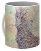 Wild Horse Coffee Mug by James W Johnson