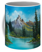 Wilderness Waterfall Coffee Mug by C Steele