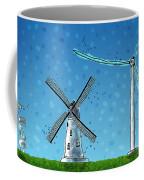 Wind Blows Coffee Mug by Gianfranco Weiss