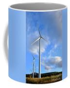 Wind Turbine Farm Coffee Mug by Olivier Le Queinec