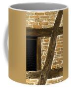 Window Frame Detail 1 Coffee Mug by Heiko Koehrer-Wagner