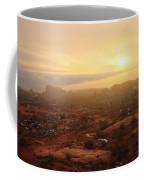 Winter Desert Glow Coffee Mug by Chad Dutson