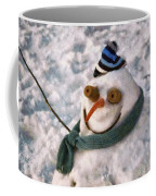 Winter - I'm Ready For My Closeup Coffee Mug by Mike Savad