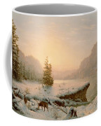 Winter Landscape Coffee Mug by Mortimer L Smith