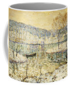 Winter Stream Coffee Mug by Ernest Lawson