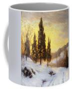 Winter Sundown Coffee Mug by Walter Launt Palmer