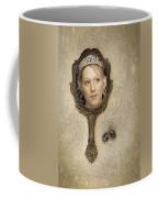 Woman In Mirror Coffee Mug by Amanda Elwell