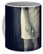 Woman With Revolver 60 X 45 Custom Coffee Mug by Edward Fielding