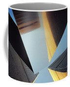 World Trade Center Towers And The Ideogram 1971-2001 Coffee Mug by Nishanth Gopinathan