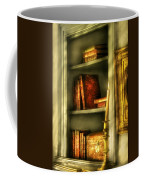 Writer - In The Library  Coffee Mug by Mike Savad