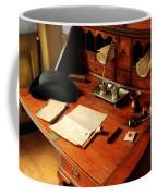 Writer - The Desk Of A Gentleman  Coffee Mug by Mike Savad