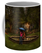 Writer - Wating For Him  Coffee Mug by Mike Savad